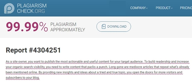 how to beat plagiarism software